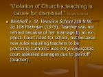 violation of church s teaching is cause for dismissal faculty contract3