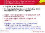 european exchange of best practice in arson investigation and prevention2