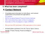 european exchange of best practice in arson investigation and prevention5