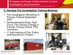european exchange of best practice in arson investigation and prevention7