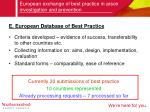 european exchange of best practice in arson investigation and prevention9