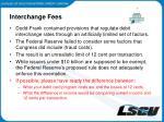 interchange fees1