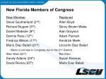 new florida members of congress