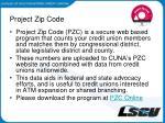 project zip code