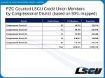 pzc counted lscu credit union members by congressional district based on 93 mapped2