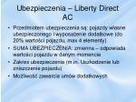 ubezpieczenia liberty direct ac
