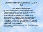 ubezpieczenia w generali t u s a ac2