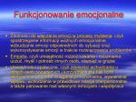 funkcjonowanie emocjonalne1