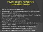psychologiczne nast pstwa przewlek ej choroby