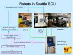 robots in seattle scu