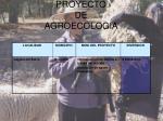 proyecto de agroecologia