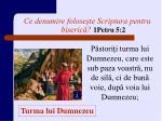 ce denumire folose te scriptura pentru biseric 1petru 5 2