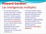 howard gardner las inteligencias m ltiples