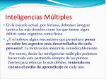 inteligencias m ltiples