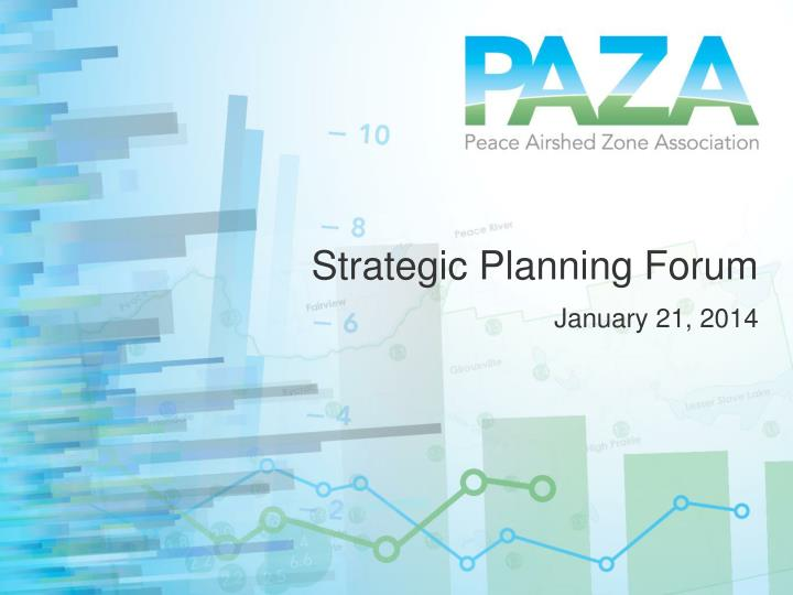 strategic planning forum n.