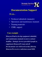 documentation support