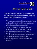 more on what we do