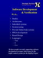 software development verification