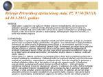 re enje privrednog apelacionog suda p 9730 2011 1 od 18 1 2012 godine
