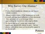 why survey our alumni1