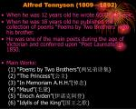 alfred tennyson 1809 1892