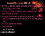 robert browning 1812 1889