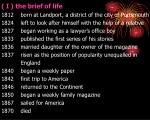 the brief of life