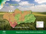 ejemplo agricultura