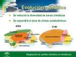 evoluci n clim tica