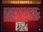 calle sierpe 5