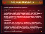 don juan tenorio 10
