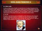 don juan tenorio 9