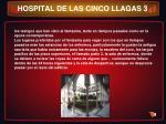 hospital de las cinco llagas 3