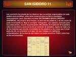 san isidoro 11