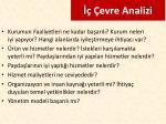 evre analizi1