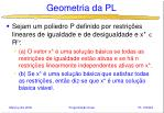 geometria da pl13