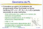 geometria da pl21