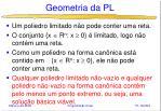 geometria da pl41