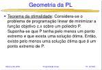 geometria da pl42