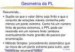 geometria da pl48