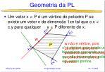 geometria da pl8