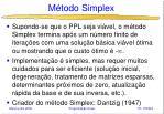 m todo simplex20