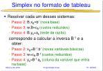 simplex no formato de tableau1