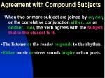 agreement with compound subjects2