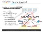 who is movation
