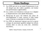 main findings3
