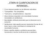 etapa iii clarificacion de intereses2