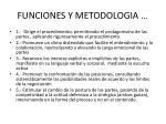 funciones y metodologia