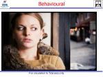 behavioural