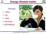 change lifestyle habits